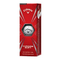 Callaway Sleeve of 3 balls Chromesoft
