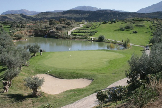 Antequera Golf Course - Malaga - Spagna - Mazze da golf da noleggiare