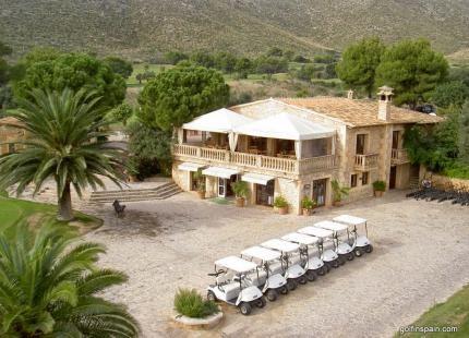Capdepera Golf - Palma de Majorque - Espagne - Location de clubs de golf