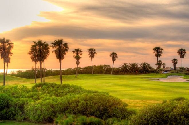 Costa Ballena Ocean Golf Club - Málaga - España - Alquiler de palos de golf
