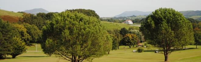 Golf d'Epherra à Souraïde - Biarritz - France - Location de clubs de golf