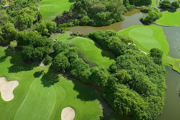 Links Golf at Constance Belle Mare - Mauritius - Republik Mauritius - Golfschlägerverleih