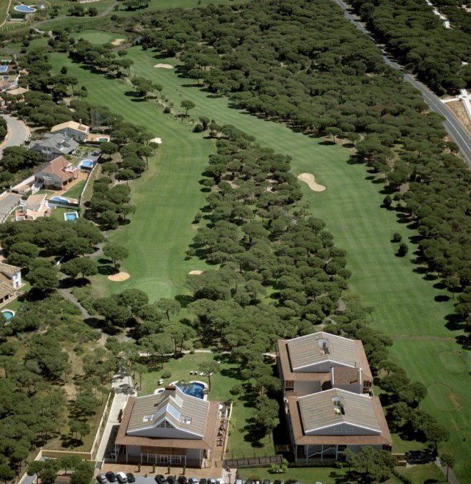 Nuevo Portil Golf Course - Malaga - Spagna - Mazze da golf da noleggiare