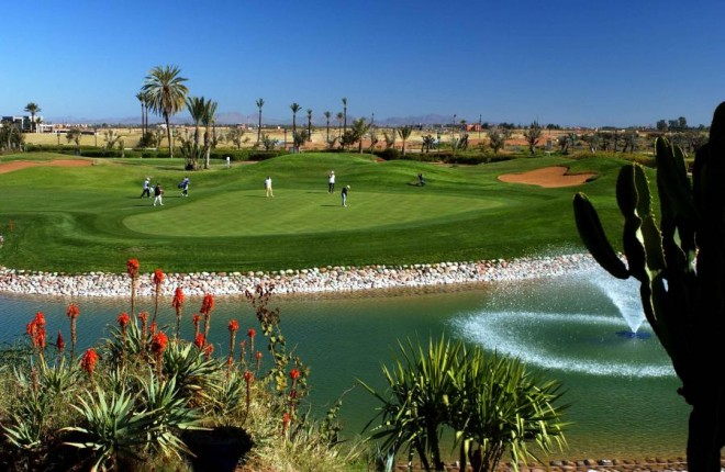 The Amelkis Golf Club - Marrakesch - Marokko - Golfschlägerverleih