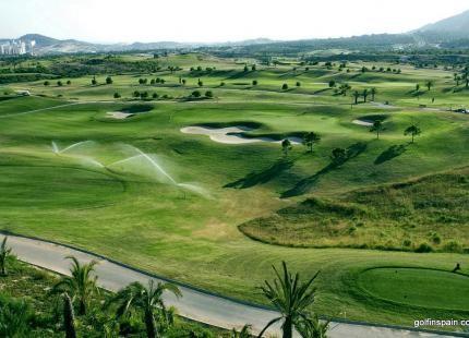 Villaitana Golf Club - Alicante - España - Alquiler de palos de golf