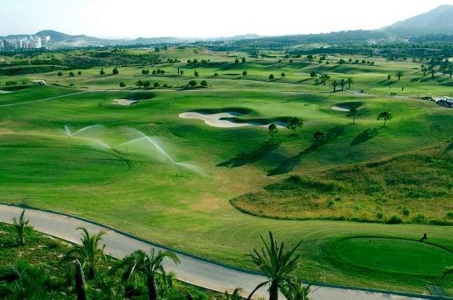 Villaitana Golf Club - Alicante - Spanien - Golfschlägerverleih