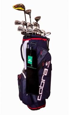 Alquiler de palos de golf Cobra KING F9 Steel LH Desde 11,10 €