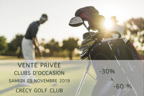 Private used golf clubs sale