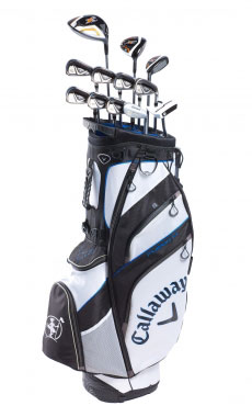 Mazze da golf da noleggiare Callaway X2 Hot Da 9,30 €