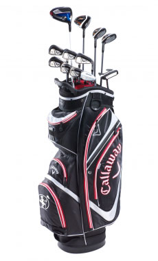 Clubs to hire Callaway X2 Hot - Big Bertha From 11.40 €