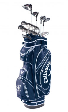 Clubs to hire Callaway X2 Hot LADY From 11.40 €