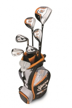 Rent golf clubs Callaway XJ Hot - 9 to12Y