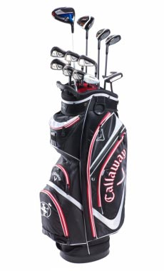 Rent golf clubs Callaway XR16 / Big Bertha