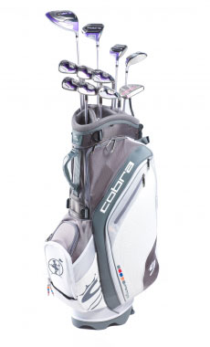 Rent golf clubs Cobra Lady Baffler XL