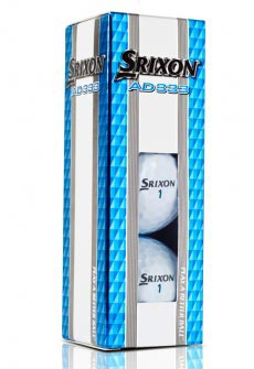 Srixon Sleeve of 3 balls AD333