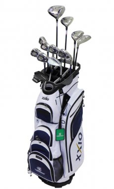 Clubs to hire XXIO 9 series From 10.70 €