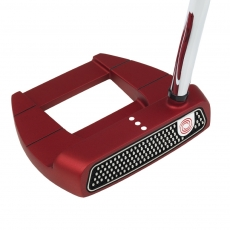 Odyssey Putter O Works Jail Bird Red Super Stroke