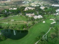 Aloha Golf Club Málaga Spanien
