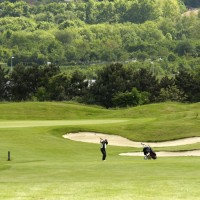 Golf Blue Green de Villennes Paris Frankreich